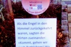Adventsweg in Pfullingen