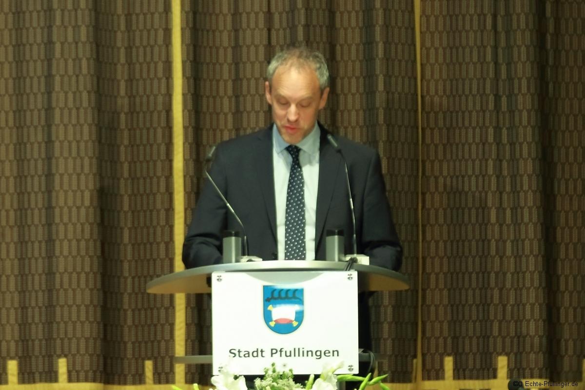 Amtseinsetzung Bürgermeister Stefan Wörner