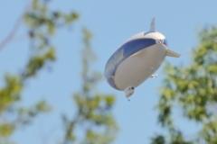 Zeppelin NT über Pfullingen